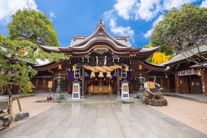 Sprachaufenthalt Japan, Fukuoka - Temple