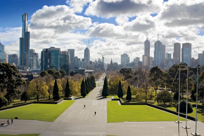 Sprachaufenthalt Australien, Melbourne - Skyline