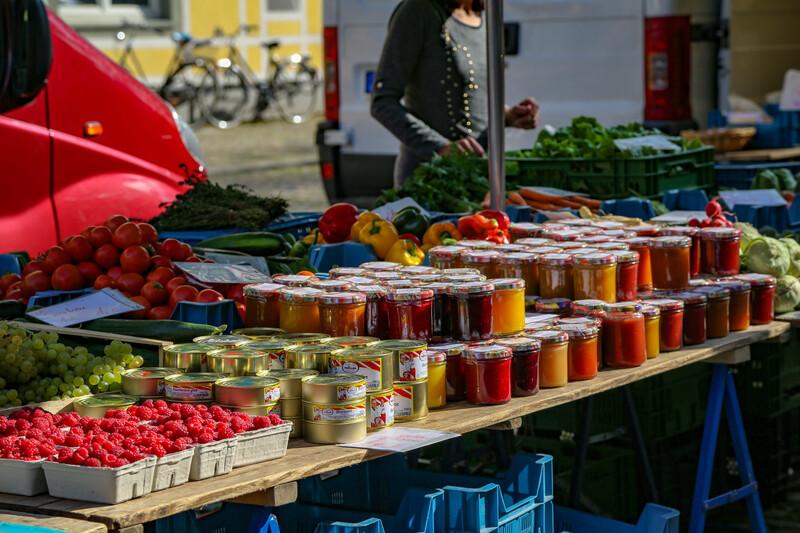 Séjour linguistique Allemand, Firbourg-en-Brisgau - Marché de producteurs