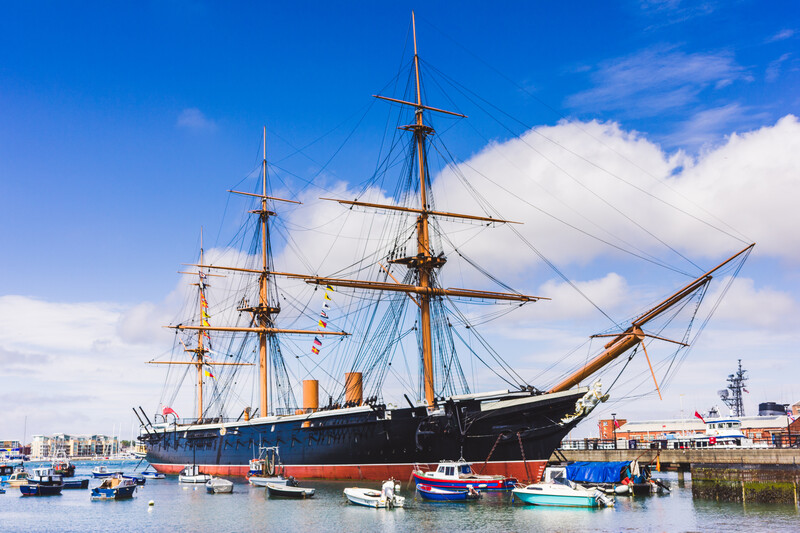 Sprachaufenthalt England, Portsmouth - Historic Dockyard