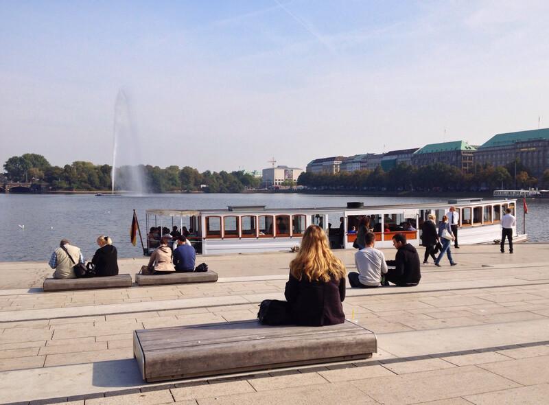 Sprachaufenthalt Deutschland, Hamburg - Alster