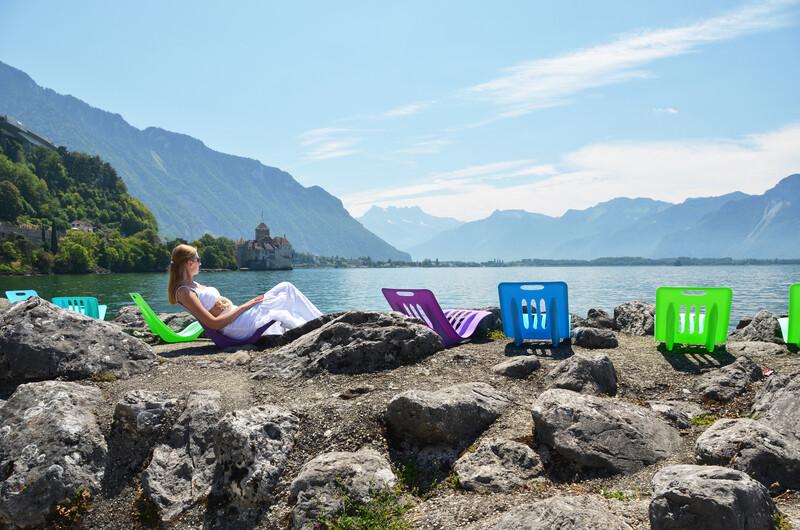 Séjour linguistique Suisse, Montreux - Lac de Genève