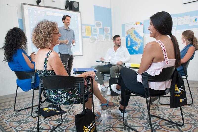 Séjour linguistique Italie, Rom – Dilit International House Roma – Leçons