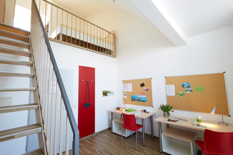 Sprachaufenthalt Deutschland, Freiburg - Goethe Institut Freiburg - Accommodation - Apartment - Doppelzimmer © Goethe-Institut/Markus Schwerer