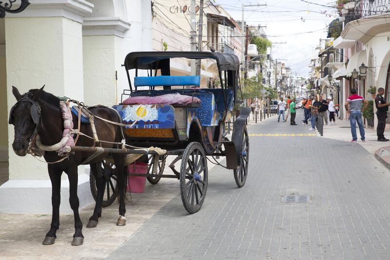 Sprachaufenthalt Dominikanische Republik, Santo Domingo - Kutsche