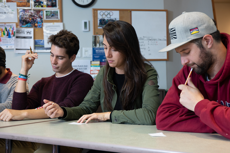 Sprachaufenthalt Kanada, Whistler - Tamwood International College Whistler - Lektionen