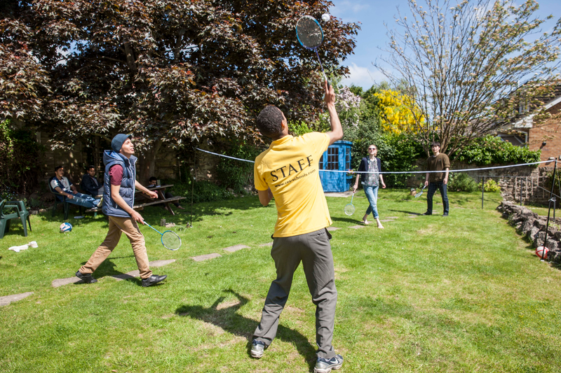 Séjour linguistique Angleterre, Oxford – CES - Jardin