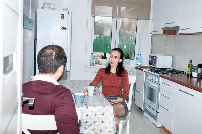 Sprachaufenthalt Russland, Moskau - Linden & Denz Moskau -Accommodation - Shared Apartment - Küche