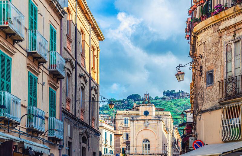 Sprachaufenthalt Italien, Tropea - Centrostorico
