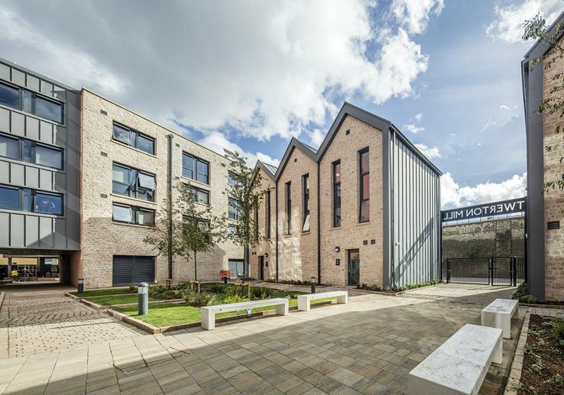 Sprachaufenthalt England, Bristol - EC - Accommodation - IQ Residence - Hof