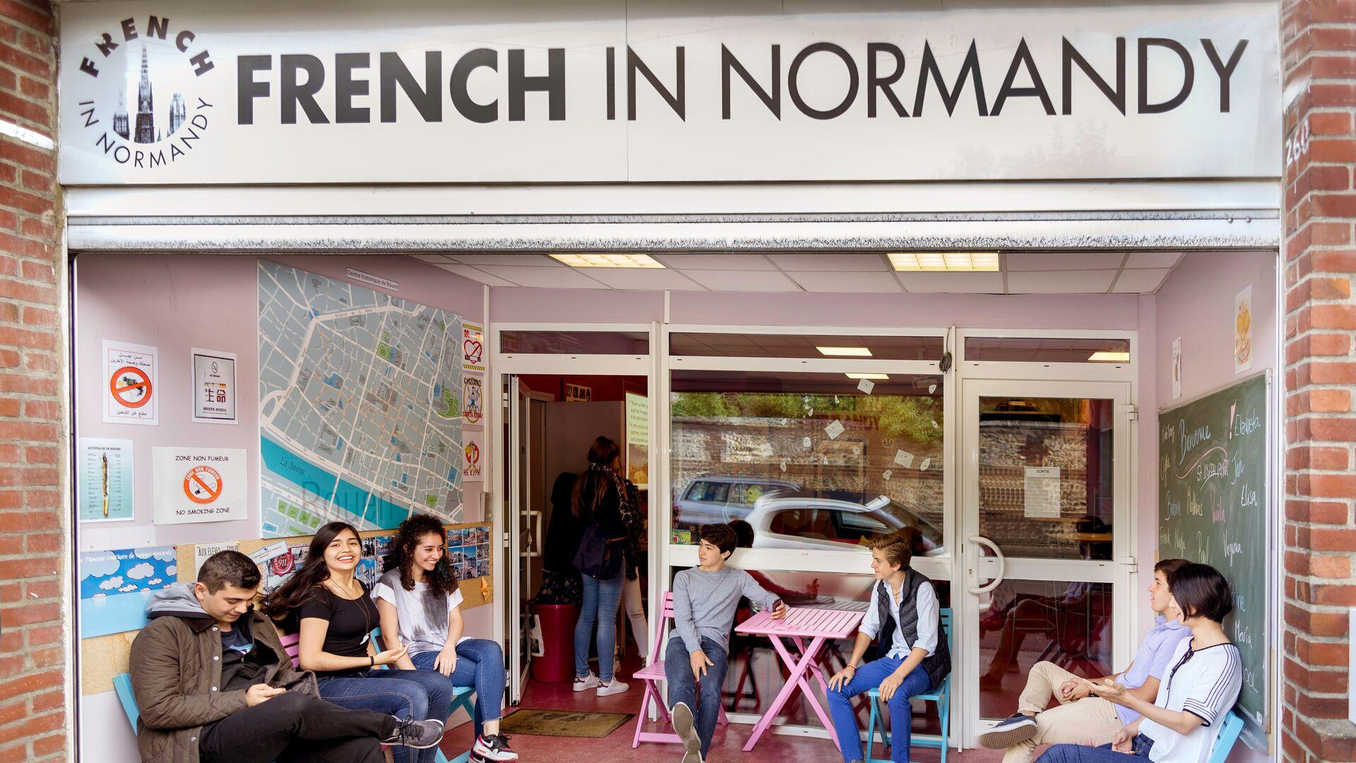 Sprachaufenthalt Frankreich, Rouen - French in Normandy - Schule