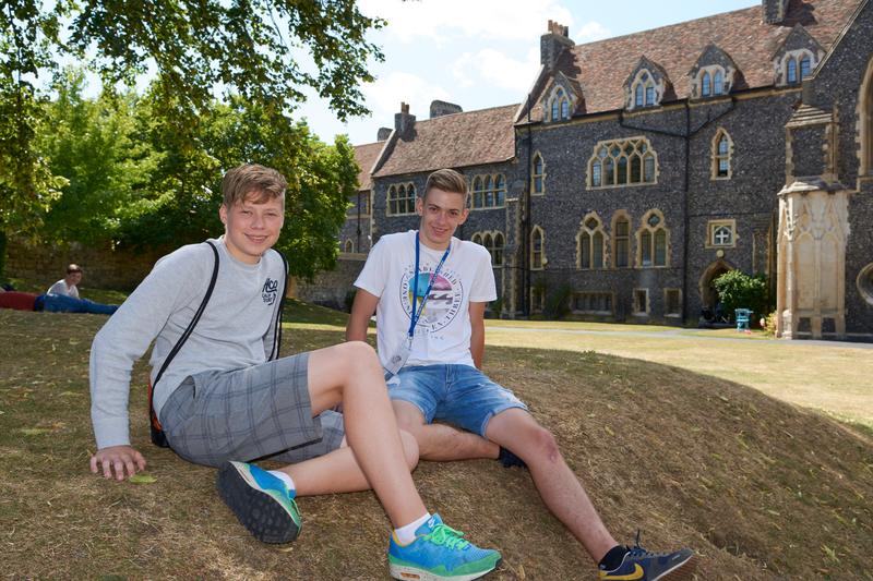Sprachaufenthalt England - Canterbury - St Giles Canterbury - Studenten