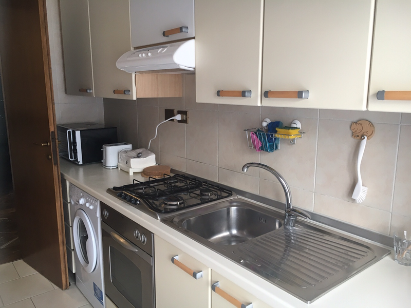 Sprachaufenthalt Italien, Milano - Scuola Leonardo da Vinci Milano - Accommodation - Apartment - Küche