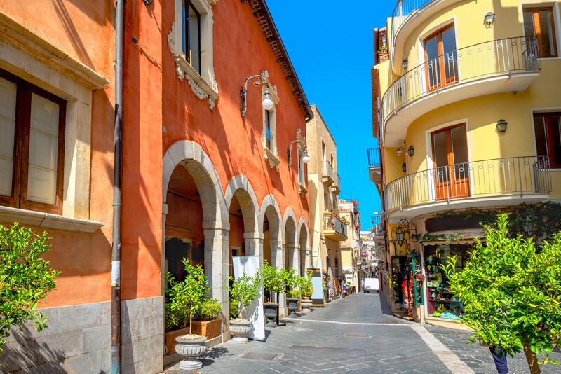 Sprachaufenthalt Italien, Taormina - Corso Umberto