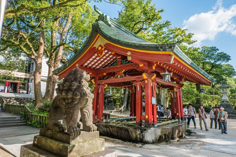 Sprachaufenthalt Japan, Fukuoka - Dazaifu Schrein