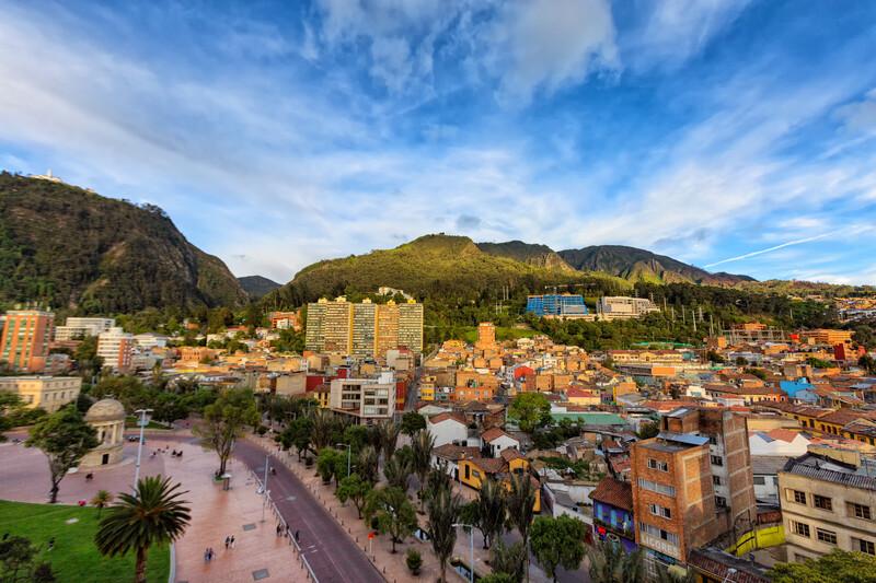 Sprachaufenthalt Kolumbien, Bogota - Journalist's Park