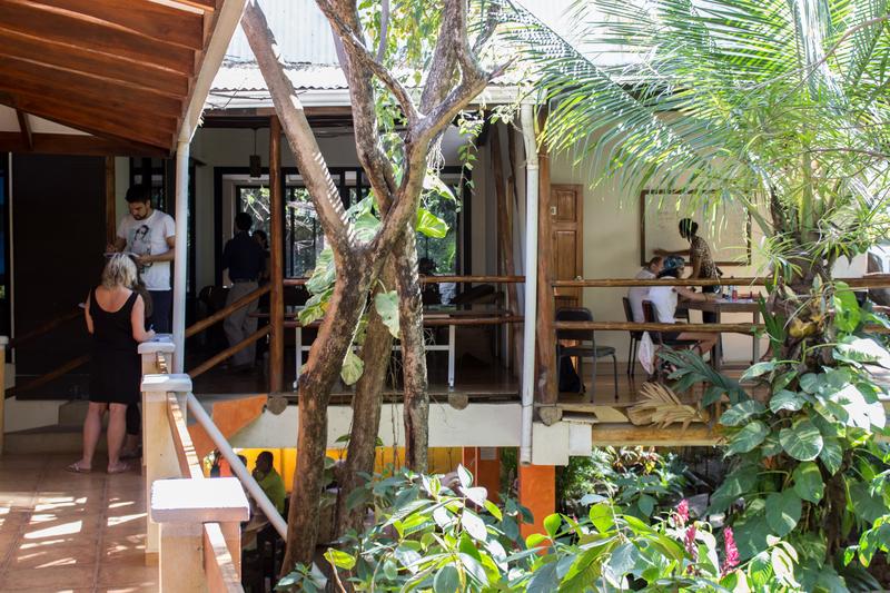 Séjour linguistique Costarica, Playa Tamarindo - WAYRA Instituto Playa Tamarindo - Terrasse
