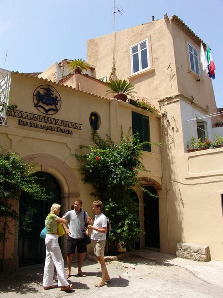 Sprachaufenthalt Italien, Tropea - Piccola Universita Italiana - Schule