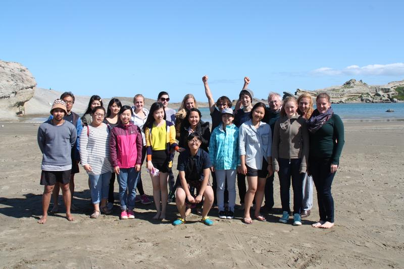 Sprachaufenthalt Neuseeland - Wellington - ETC Wellington - Studenten