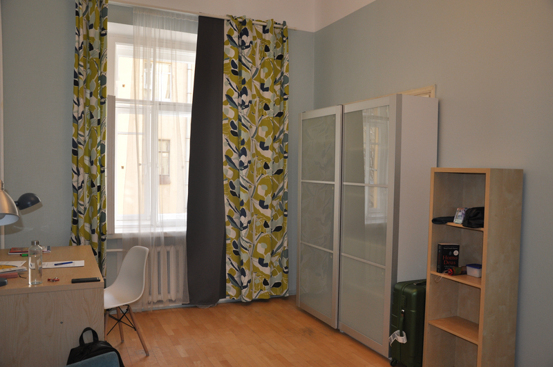 Sprachaufenthalt Russland,St. Petersburg - Liden & Denz St. Petersburg - Accommodation - Shared Apartment - Schlafzimmer