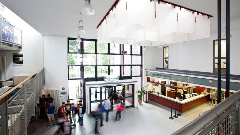 Sprachaufenthalt Deutschland, Köln - Humboldt Institut Cologne - Lobby