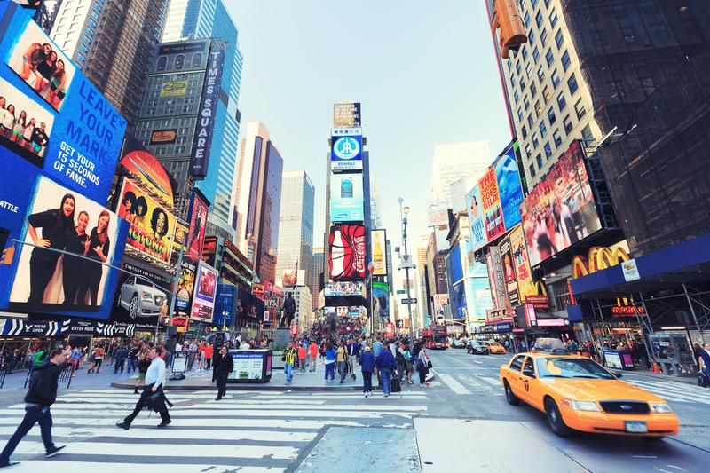 Sprachaufenthalt USA, New York - Times Square