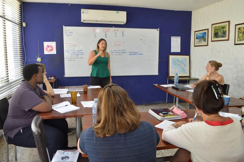 Sprachaufenthalt Costa Rica, Manuel Antonio - Maximo Nivel Manuel Antonio - Lektionen