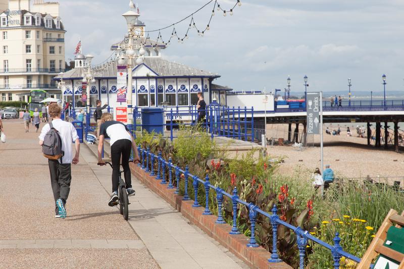 Séjour linguistique Angleterre, Eastbourne - Promenade