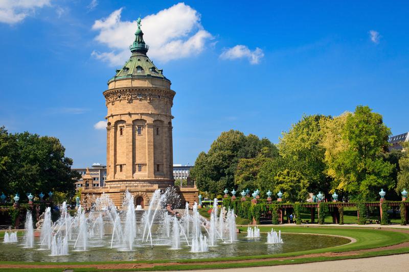 Sprachaufenthalt Deutschland, Mannheim - Brunnen