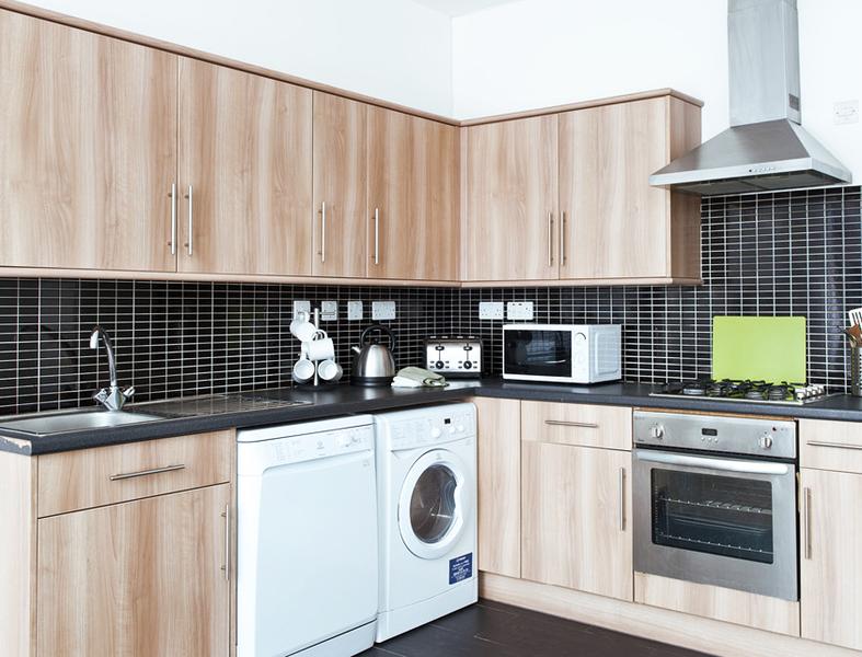 Sprachaufenthalt England, London - Stafford House London - Accommodation - Houseshare Apartment - Küche