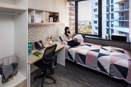 Sprachaufenthalt Australien, Brisbane - Langports Brisbane - Accommodation - Apartment Student One - Zimmer