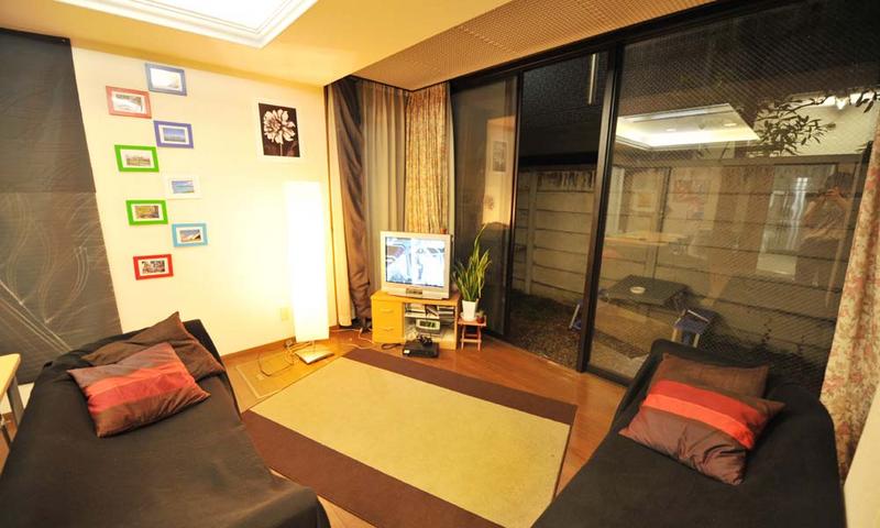 Sprachaufenthalt Japan, Tokio - Genki Japanese School Tokio - Accommodation - Residenz - Wohnzimmer