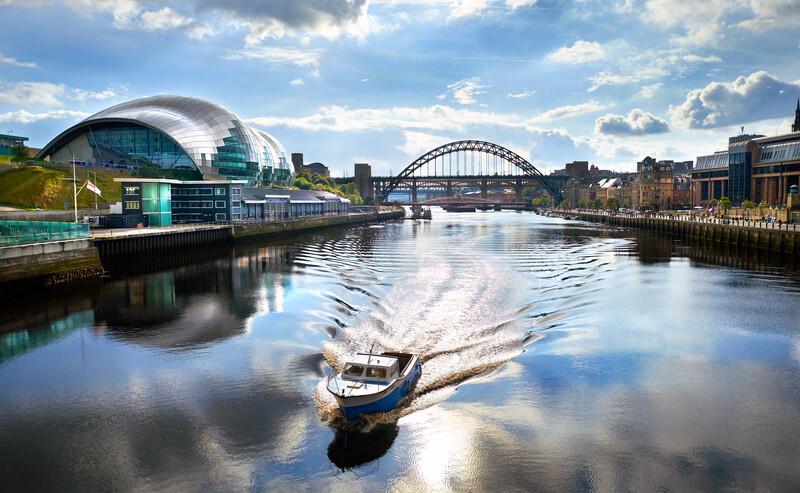 Sprachaufenthalt England, Newcastle upon Tyne - Quayside