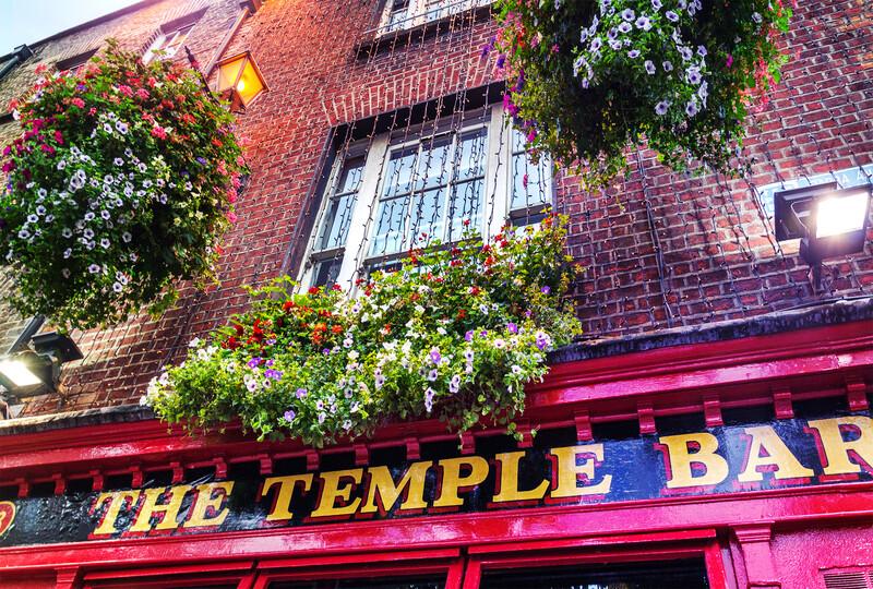 Séjour linguistique Irlande, Dublin - The Temple Bar