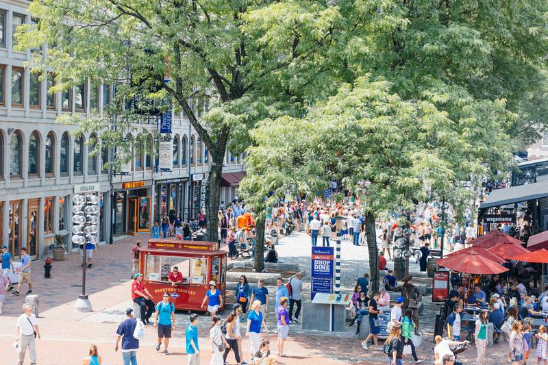 Sprachaufenthalt USA, Boston - Fanuil Hall Marketplace