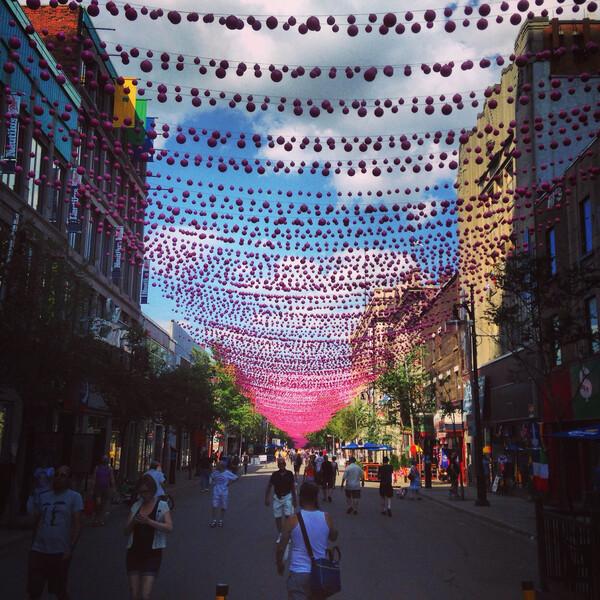 Sprachaufenthalt Kanada, Montreal - St Catherine Street
