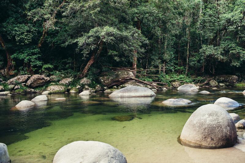 Sprachaufenthalt, Australien - Cairns - Wanderung