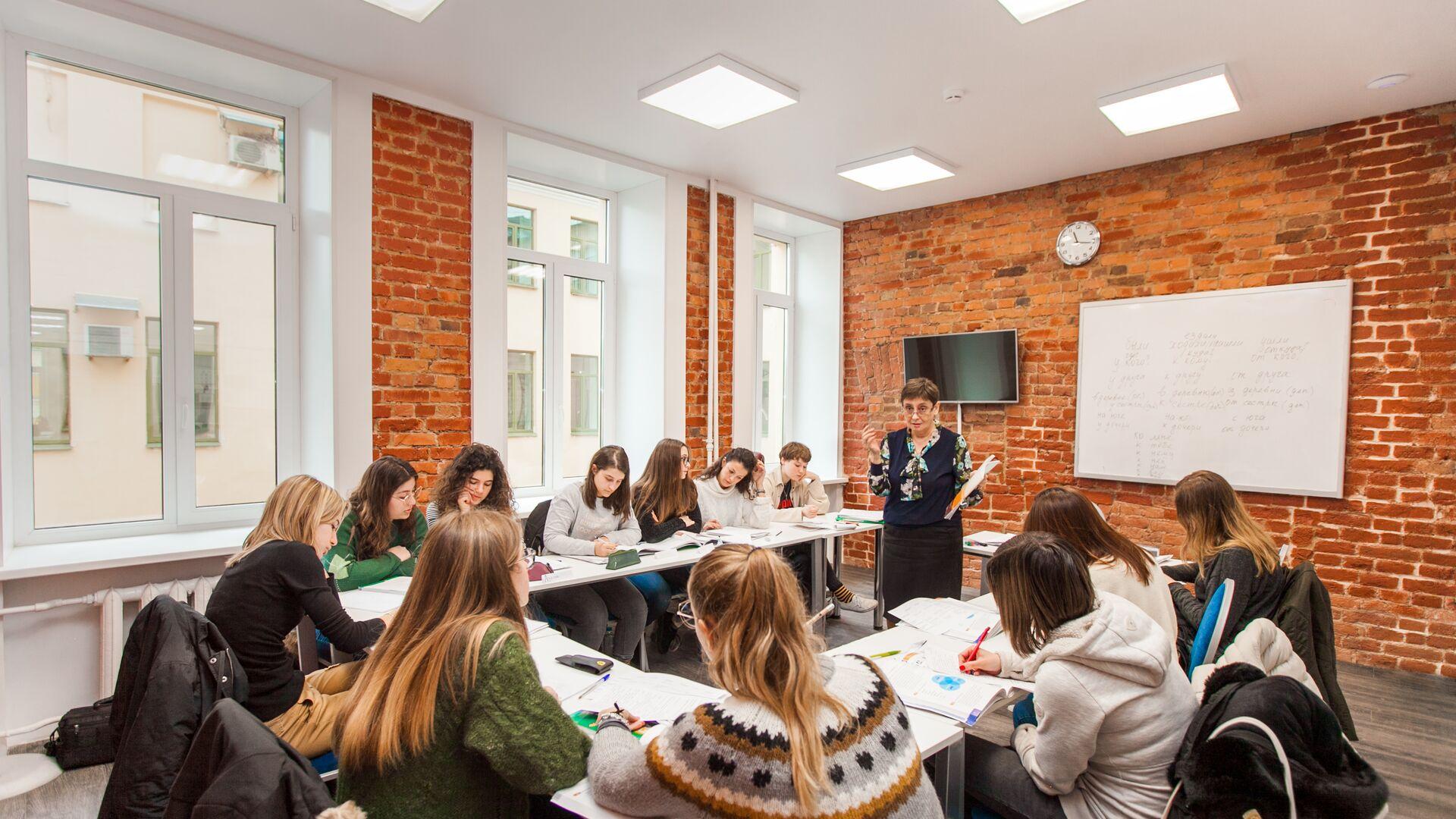 Sprachaufenthalt Russland, St. Petersburg - Liden & Denz - Schule