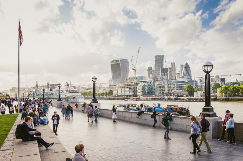 Sprachaufenthalt England, London - Themse