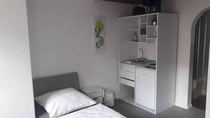 Sprachaufenthalt Deutschland, Lindau im Bodensee - Dialoge Lindau - Accommodation - Apartment Seenest - Küche