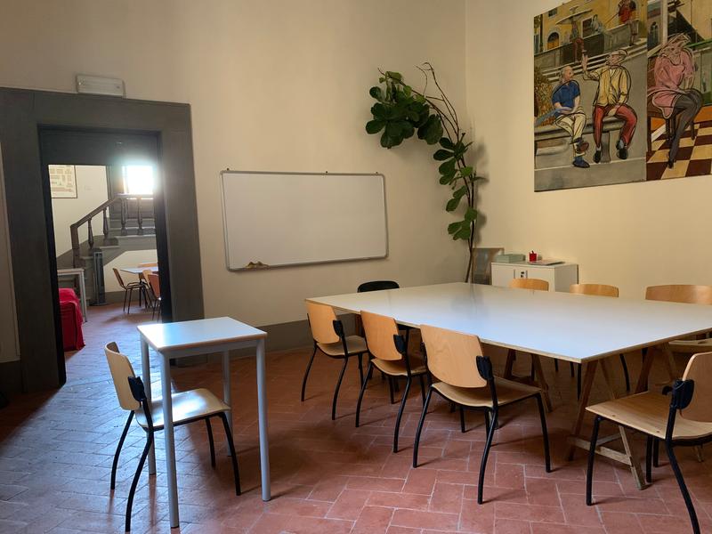 Séjour linguistique Italie, Florence - Scuola ABC Firenze - Salle de classe