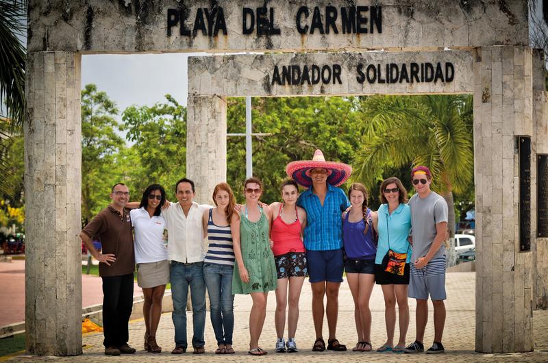 Sprachaufenthalt Mexico, Playa del Carmen - Don Quijote Playa del Carmen - Studenten