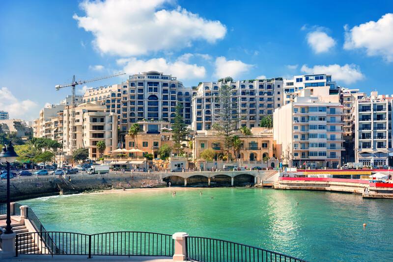 Séjour linguistique Malte, St Julians - Spinola Bay