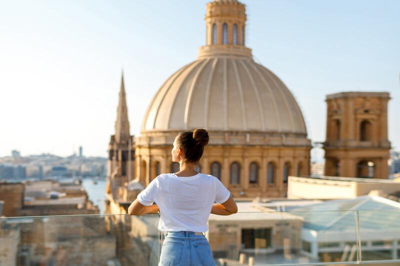 Sprachaufenthalt Malta, Aussicht