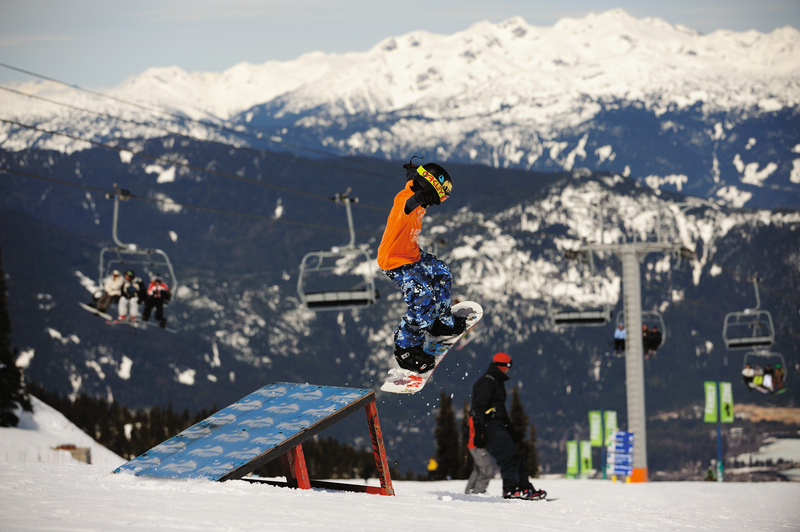 Sprachaufenthalt Kanada, Whistler - Tamwood International College Whistler - Snowboarden