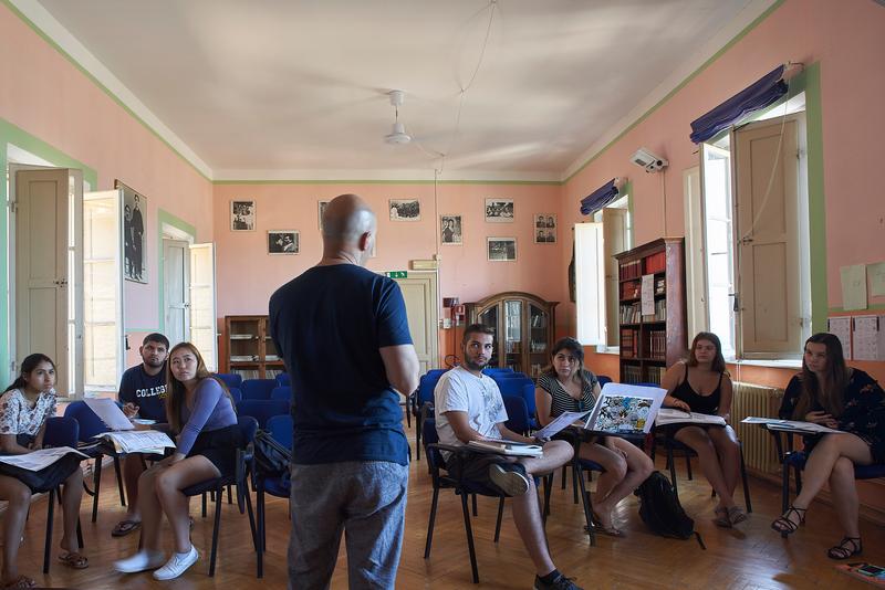 Séjour linguistique Italie, Siena - Dante Alighieri Siena - Leçon
