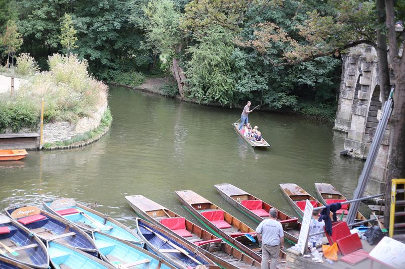Séjour linguistique Angleterre, Oxford – CES - Punting