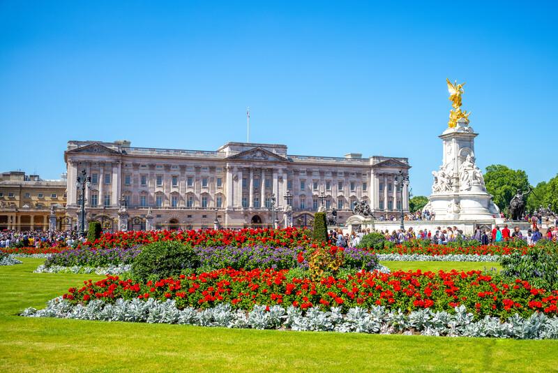 Sprachaufenthalt England, Buckingham - Buckingham Palace