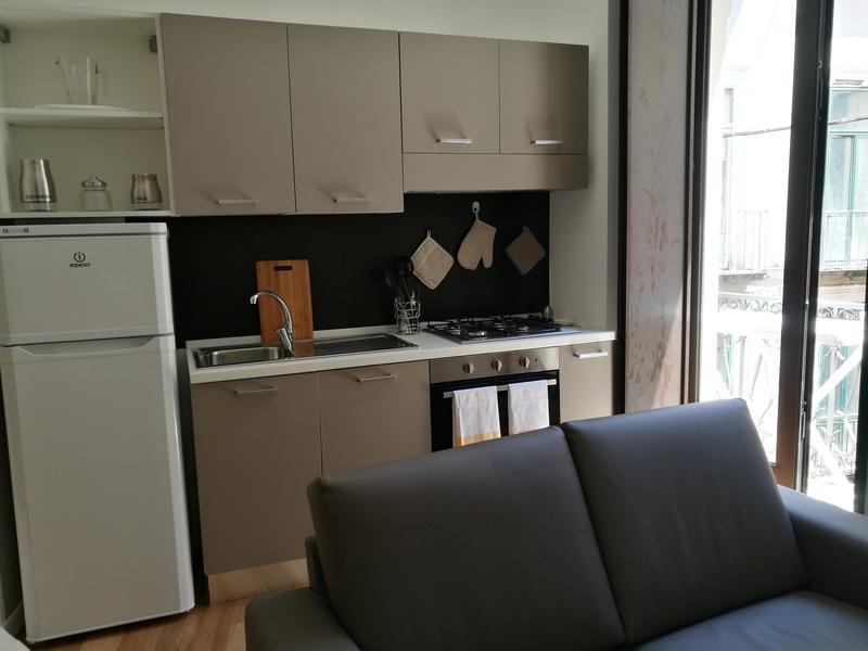 Sprachaufenthalt Italien, Salerno - Accademia Italiana - Accommodation - Shared Apartment - Küche