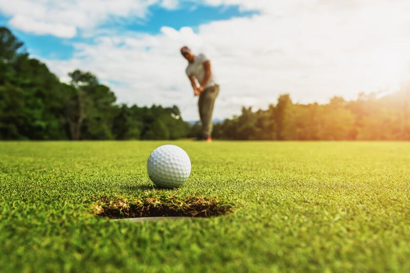 Sprachaufenthalt England, Worthing - Golf